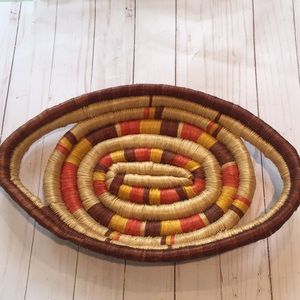 Other - Coiled Oval Basket